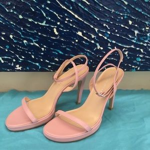 Colin Stuart Baby Pink Stiletto Sandals